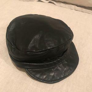 The coolest vintage leather cap